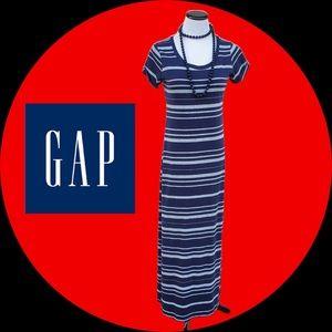 GAP Striped Maxi a Dress